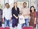 Kunjungan Khusus Wakil Atase Pers Dubes Amerika Serikat, Sita Raiter Takjub dan Kagum dengan Suara Pemred