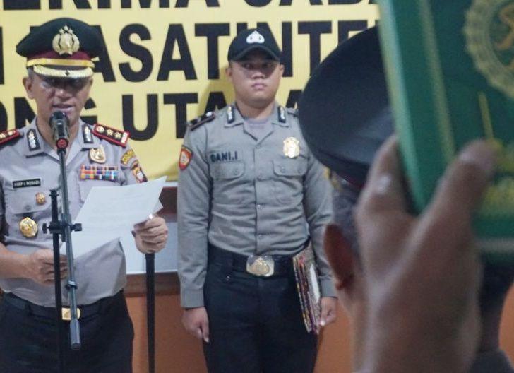 Photo of Sertijab Kasat Sabhara dan Kasat Intelkam Polres Kayong Utara