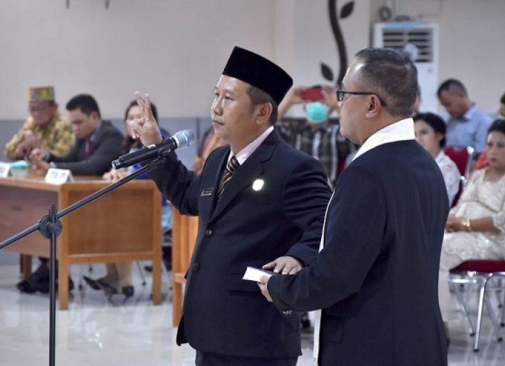 Photo of Jarot Hadiri Pengambilan Sumpah Janji Wakil Ketua 2 DPRD