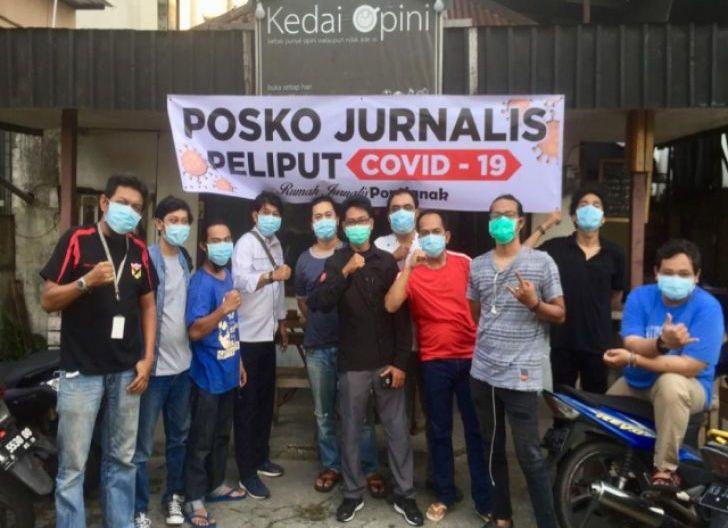 Photo of Jurnalis di Pontianak Dirikan Posko Liputan Covid-19