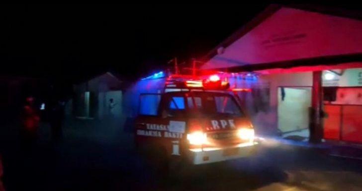 Masjid At-Taqwa Kelurahan Kauman Disemprot Disinfektan Pasca ODP Meninggal