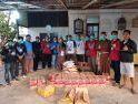 JPIC OFM Cap & FRKP Salurkan Sembako kepada Warga Terdampak Covid-19