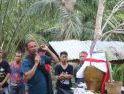 Cegah Penyebaran Virus Corona Warga Dusun Senuruk Laksanakan Ritual Adat Tolak Bala