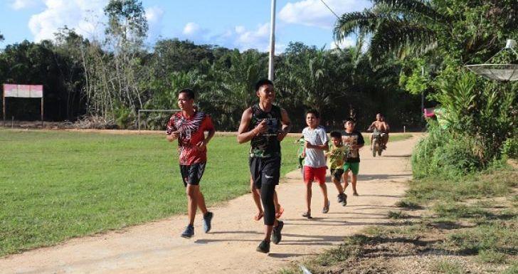 Ajarkan Cara Jogging yang Benar