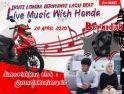 Saksikan dan Ikuti Lomba Nyanyi Secara Online di Instagram Honda Kalbar Bersama Manjakani Music Live