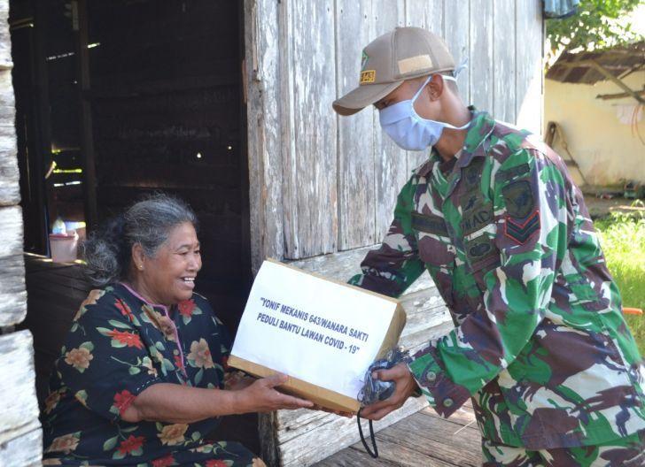 Photo of Yonmek 643/Wns Bagikan Sembako