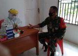 Photo of Yakinkan Personel Tak Terinfeksi Covid-19, Koramil 04/Kembayan Lakukan Rapid Test