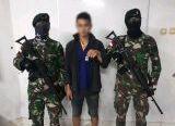 Photo of Satgas Pamtas Yonif R 641/Bru Amankan Pelaku Transaksi Narkoba di Perbatasan