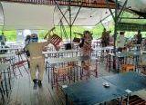 Photo of Tak Patuhi Protokol Kesehatan, Satpol-PP Ancam Bubarkan Pengunjung Warkop