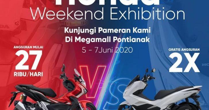 Kunjungi dan Saksikan Honda Weekand Exhibition di Mega Mall Ayani