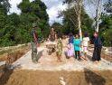 Satgas TMMD ke 108 Kodim 1202/Singkawang bangun jembatan untuk masyarakat desa Danti