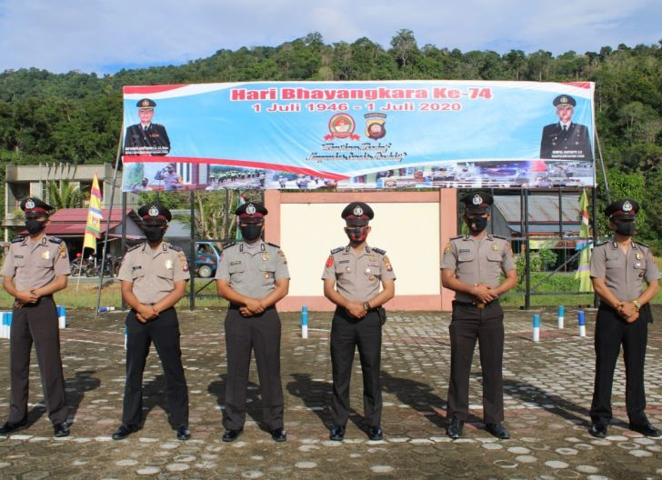 Photo of 6 Bintara Polres Kayong Utara Naik Pangkat