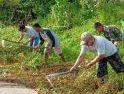 Wajah Baru Desa Bangun Jaya karena Satgas TMMD ke-108