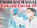 Produksi Massal Vaksin Covid-19, Kementan Gunakan Swasta Distribusi Kalung Antivirus
