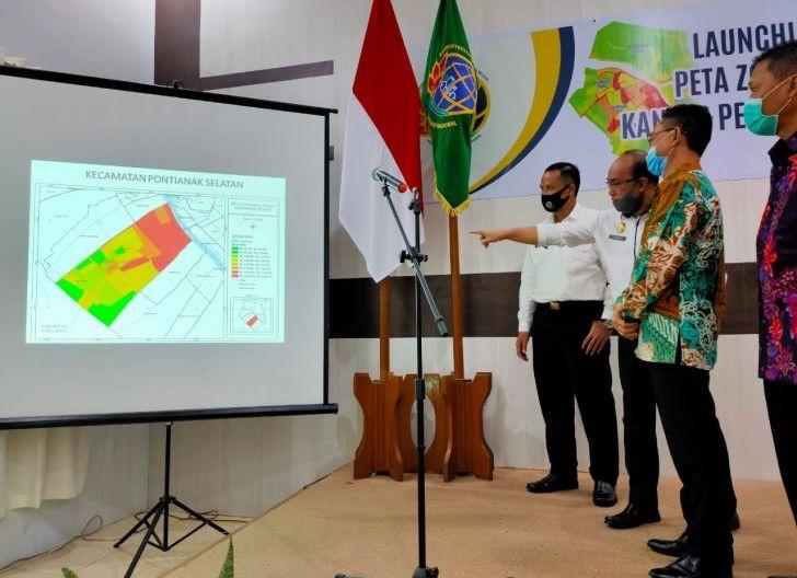 Photo of Kantor Pertanahan Pontianak Luncurkan Peta ZNT