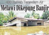 Photo of Melawi Dikepung Banjir, 400 Rumah Terendam Air