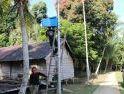Dandim 1204/Sanggau, Apresiasi Program Terang Desa Beringin Rayo Oleh Satgas TMMD Reguler ke-108 Kodim 1203/Ktp