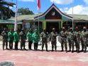 Danrem 121/Abw Kunjungi Pos Kotis Satgas Pamtas Yonif  Raider 641/Beruang