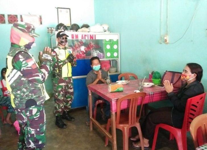 Photo of Kodim 1202/Skw Laksanakan Operasi Penegakan Disiplin Penerapan Protokol Kesehatan