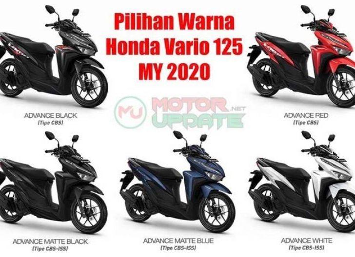 Photo of Honda Vario 125 dan 150 Tahun 2020 Hadir dengan Tambahan Warna Baru