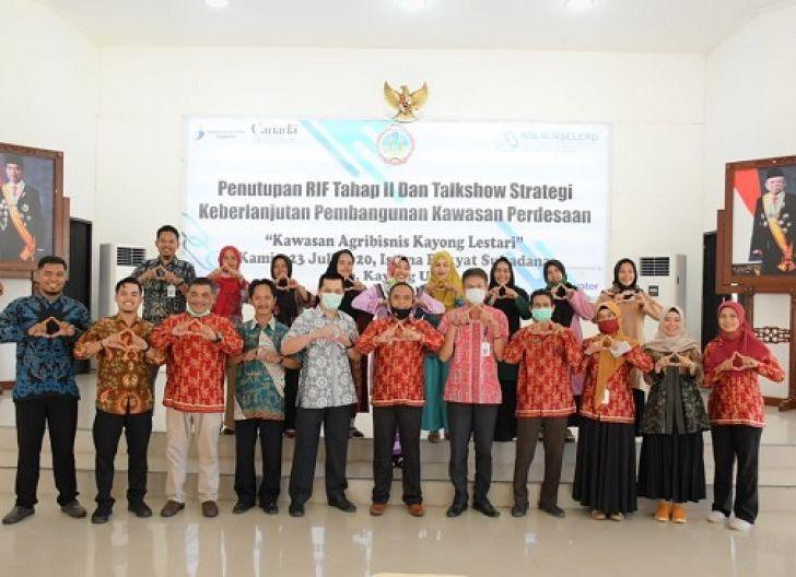 Photo of Konferensi Video Penutupan Program RIF Tahap II, Kerjasama dan Inovasi Kunci Pengembangan Kawasan