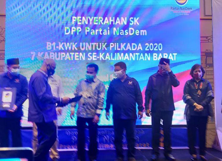 Photo of DPW Nasdem Kalbar Umumkan Tujuh Pasangan Bakal Calon Dalam Pilkada 2020