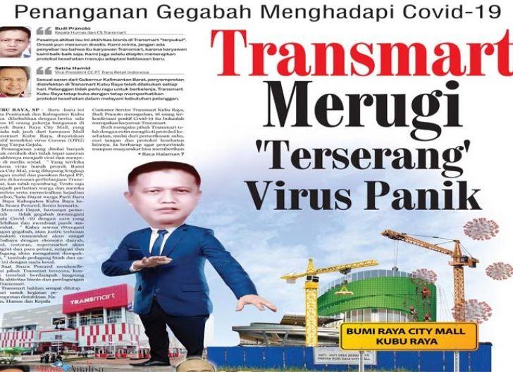 Photo of Transmart Kubu Raya Merugi karena Berita Covid-19