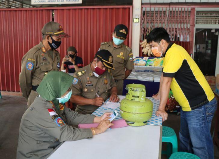 Photo of Razia Warung Bakso dan Warkop, Tim Gabungan Sita Puluhan Tabung Elpiji Subsidi