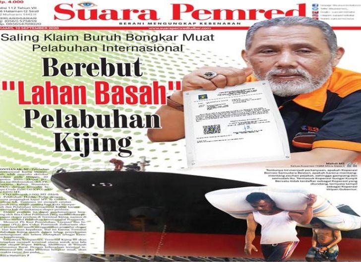 """Photo of Saling Klaim Buruh Bongkar Muat Pelabuhan Internasional Mempawah, Berebut """"Lahan Basah"""" Pelabuhan Kijing"""