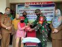 Babinsa Koramil 08/Sdu Laksanakan Pendampingan Pemberian Zakat Tahap 1 Tahun 2020