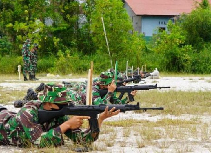 Photo of Tingkatkan Kemampuan Prajurit, Korem 121/Abw Gelar Latihan Menembak