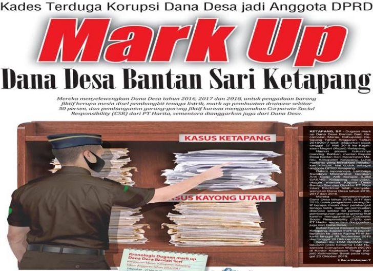 Photo of Kades Terduga Korupsi Dana Desa jadi Anggota DPRD, Mark Up Dana Desa Bantan Sari Ketapang
