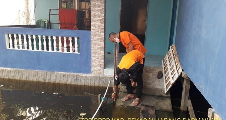 Timbulkan Korban Bayi Usia 6 Bulan, Warga Diharap Waspada Meluasnya Banjir Sekadau