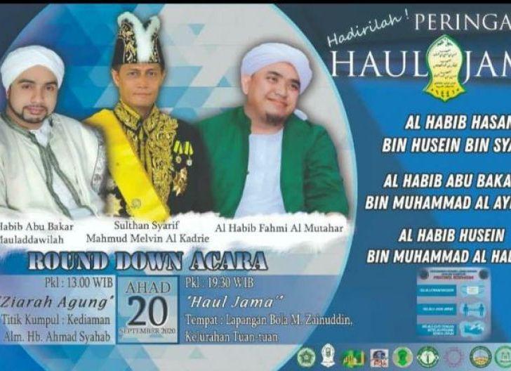 Photo of Teladani Sifat Mulia Tokoh Agama, Masyarakat Diajak Ikuti Haul Jama