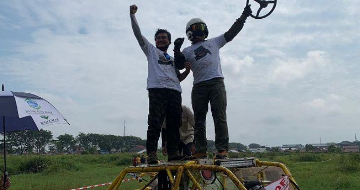 Dankodiklatad Taklukan Lapangan Debu Siantan Bersama IOF Kalbar