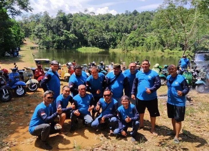 Photo of FRKP West Borneo Vespa Lovers, Komunitas dengan Akta Pendiria Legal Formal Anggota IMI dan Vespa Indonesia., Tanam 465 Pohon saat Peringati HUT ke-2