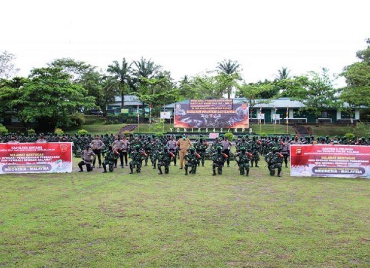 Photo of Yonif 642/Kps Jaga Perbatasan Indonesia, Pangdam XII/Tpr : Tugas Operasi Kehormatan Bagi Prajurit