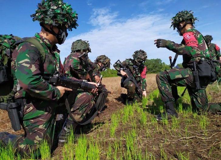 """Photo of Korpaskhas TNI AU Gelar Latihan Puncak """"Trisula Perkasa 2020"""" di Kalbar"""