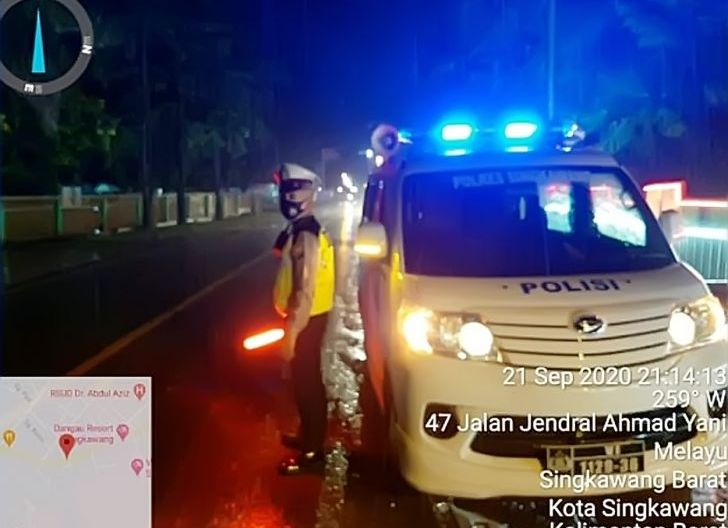 Photo of Satlantas Polres Singkawang Stationerketertiban dan kelancaran lalu lintas