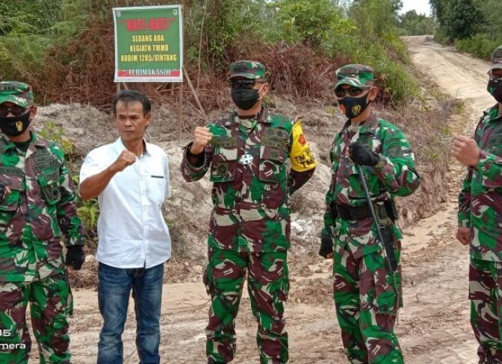 Photo of Tim Wasev Mabes TNI Kunjungi Satgas TMMD ke-109 Kodim 1205/Sintang Tahun 2020 di Kecamatan Ketungau Tengah