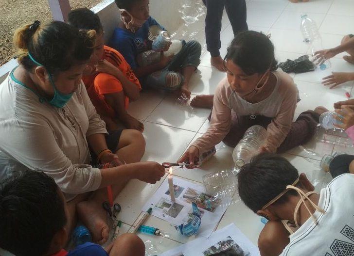 Photo of Yayasan Palung Keliling Kampung, Sampaikan Pendidikan Lingkungan di Sekolah