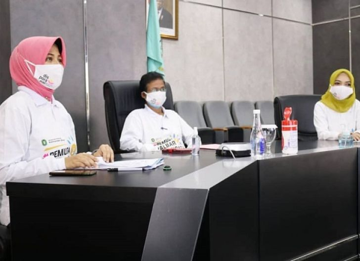Photo of 1.000 Pemuda Ikuti Talkshow Pemuda Kalbar Inspiratif, Pemprov Launching Gerakan Pemuda Pakai Masker