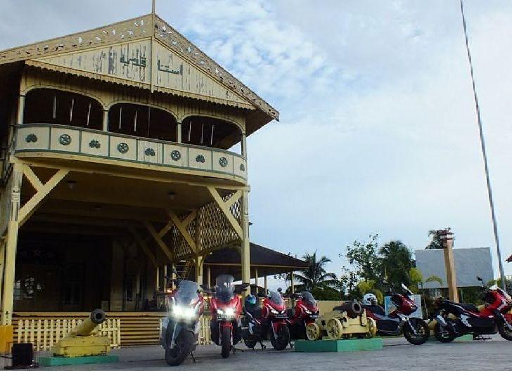 Photo of Rayakan HUT ke-249 Kota Pontianak, ADV On Vocation Seri 4 Astra Motor Kalbar Eksplore Tempat Bersejarah