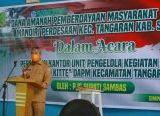 Photo of Pjs Bupati Sambas Resmikan Gedung Kantor Unit Pengelola Kegiatan DAPM Tangaran