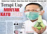 Photo of Gubernur Kalbar Akui Dua Kali Terjangkit Covid-19, MidjiTerapi Uap Minyak Kayu Putih