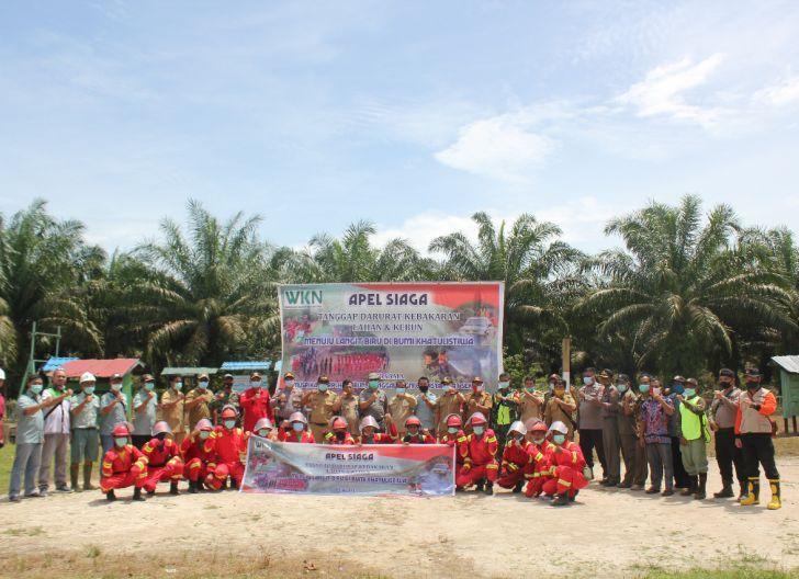 Photo of Forkopimda Bersama PT WKN Menyatakan Sikap Komitmen Siap Atasi Karhutla