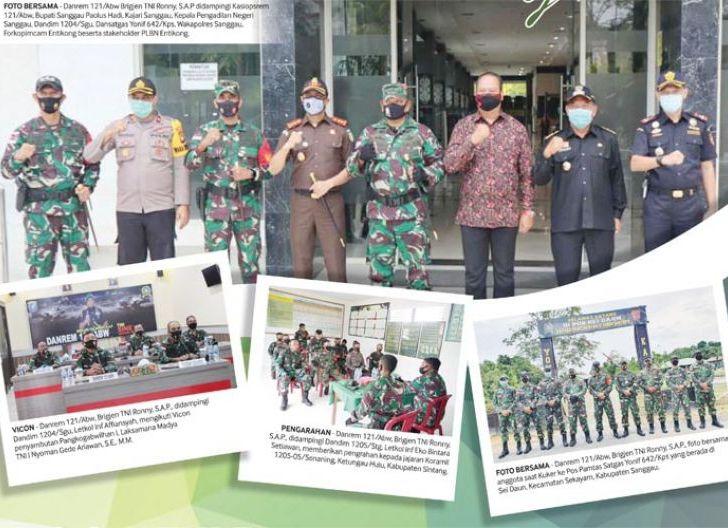 Photo of Brigjen TNI Ronny S.A.P. Safari Beranda Tapal Batas RI-Malaysia