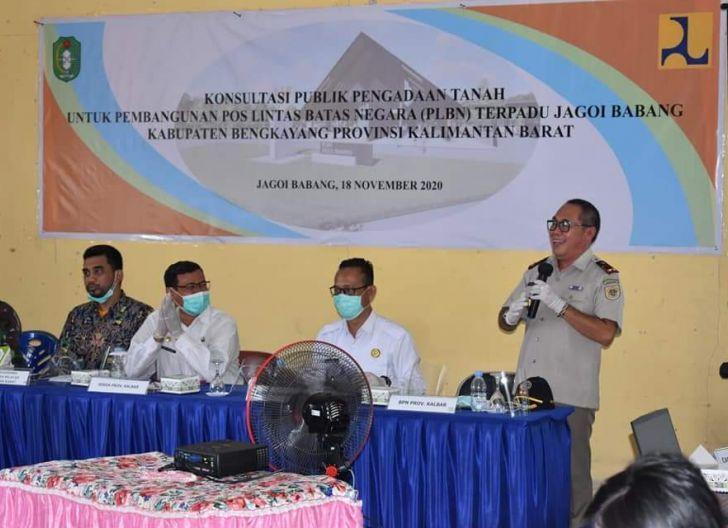 Photo of Pemkab Bengkayang Bebaskan 16,7 Hektare Lahan untuk Pembangunan PLBN