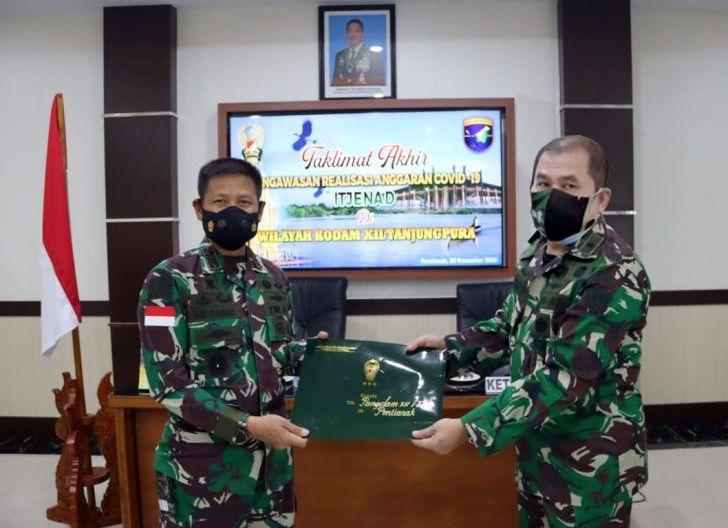Photo of Pangdam Apresiasi Pengawasan Penanganan Covid-19 Tim Itjenad