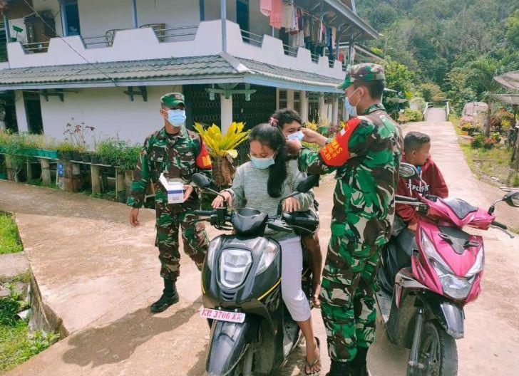 Photo of Koramil Silat Hulu Canangkan Satgas Desa Tangkal Covid-19